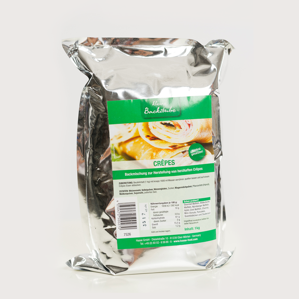 "Crêpes Backmischung ""Neutral"" 1 kg Beutel"