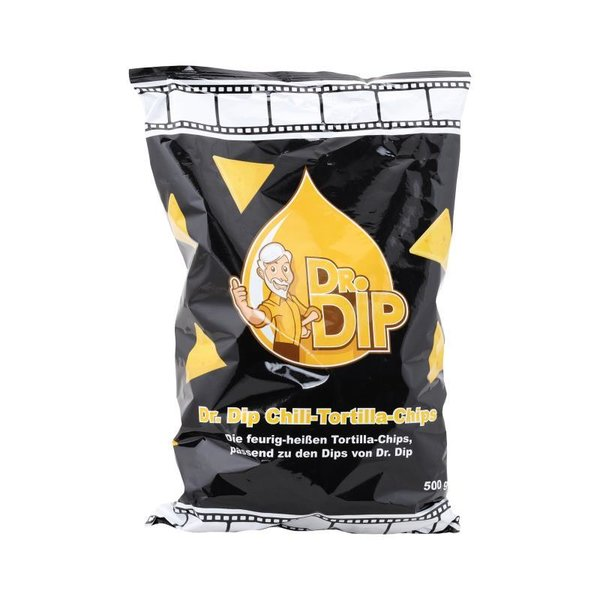 Dr. Dip Tortilla Chili Chips 1 x 500 g  Beutel